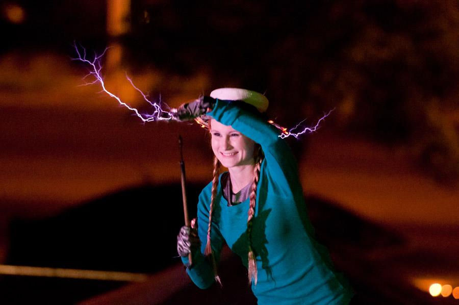 Wendy with sparks 4