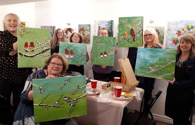 Thanks for a beautiful paint night every