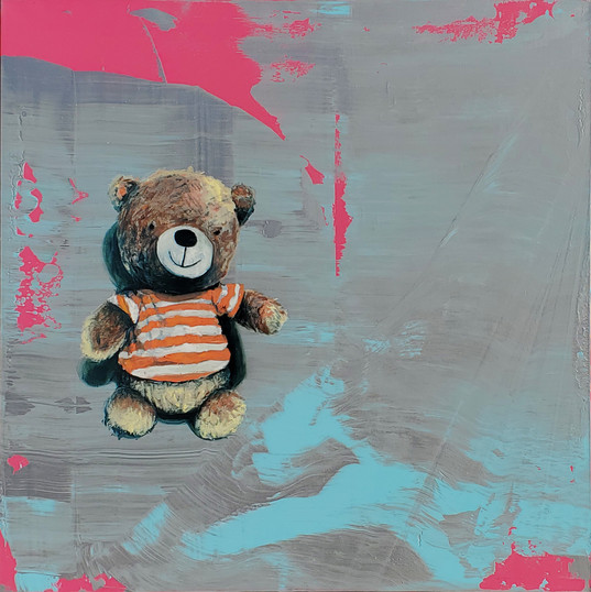 UMBACH, ADAM  Beach Bear  Oil and enamel