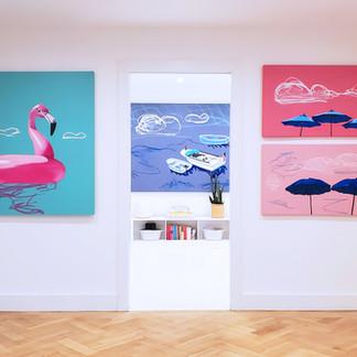 Adam Umbach Art Show