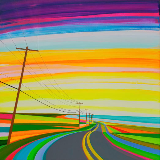 Sunset on Old Montauk Highway Grant Haff