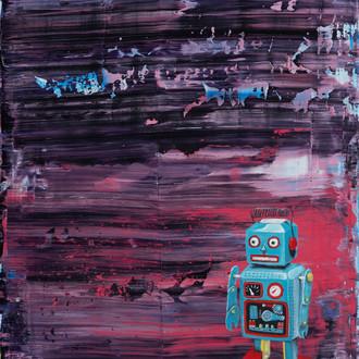 UMBACH, ADAM  Boy Toy  Oil on panel, 201