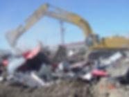 Demlition work in Colorado!