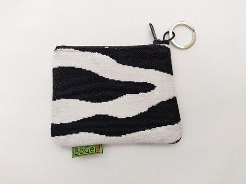 Zebra - Freizeitgeldbeutel/Schlüsseletui