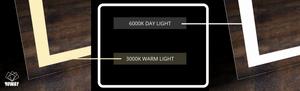 Light Temperature examples