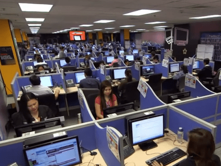 American Call Center Workers Rally for Their Filipino Counterparts