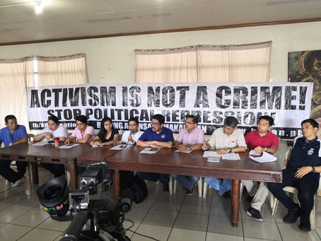 Military and police raids against trade unions in the Philippines