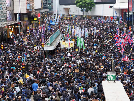 Growing strength of pro-democracy unions in Hong Kong