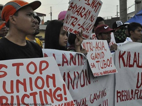 NutriAsia Workers Illegally Arrested, Falsely Charged   and Jailed for Exercising Right to Strike