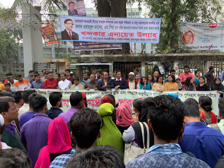 Cases filed against over 5000 workers after protests in Bangladesh