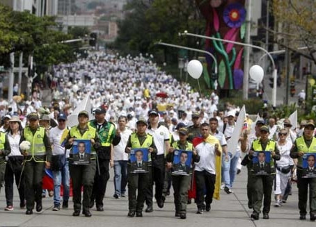 Nationwide marches and general strike in Colombia