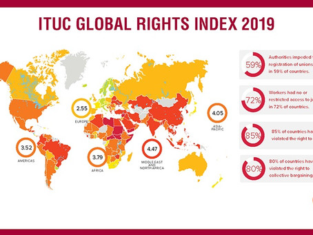 ITUC Global Rights Index 2019: Democracy in crisis