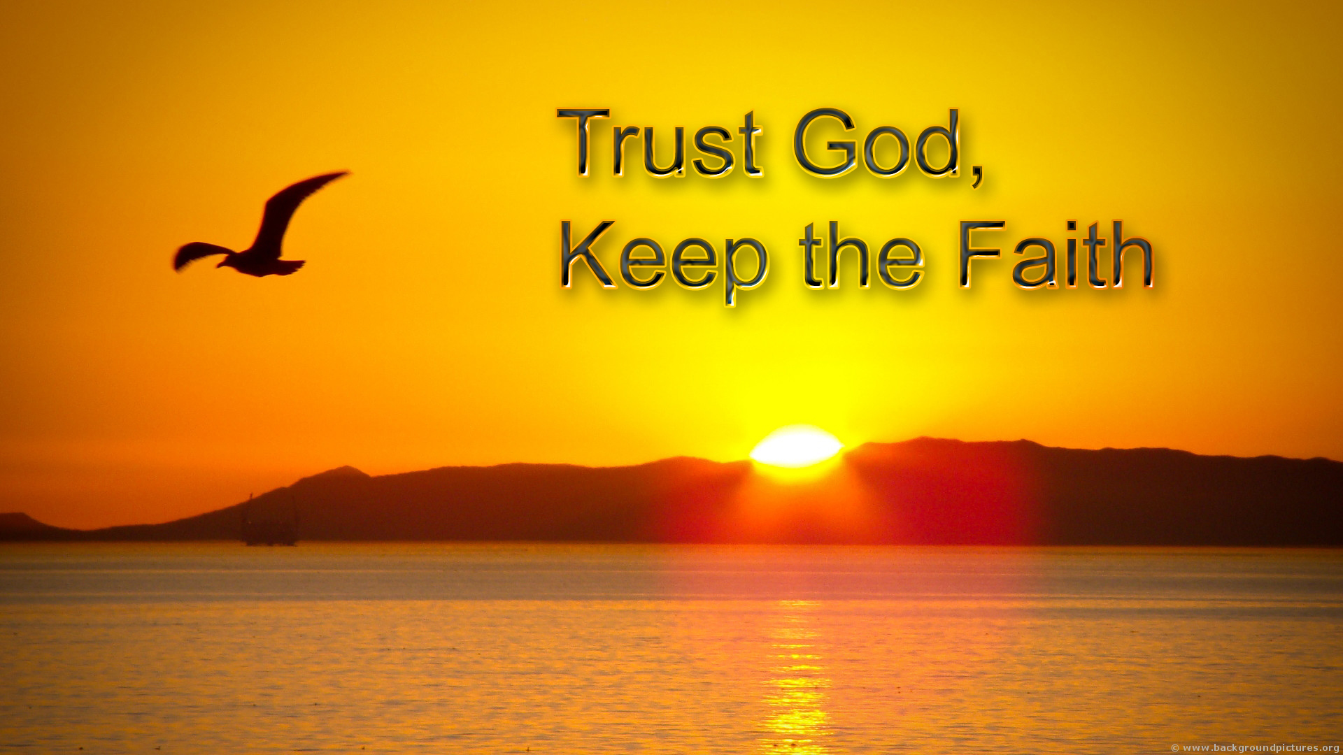 Image result for images of trusting god