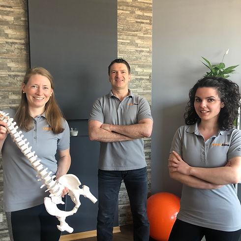 Team PhysioZone Pysiotherapie Niederprüm