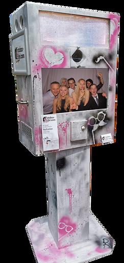 Fotobox mieten Hochzeit Graffiti Knipskiste Trier Bitburg Deisgn - Fotobox Eifel Fotobooth Eifel Blitzbox Luxemburg Events