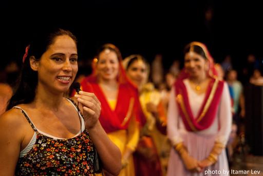 פסטיבל הודו בנמל תל אביב מופע קטאק (41).