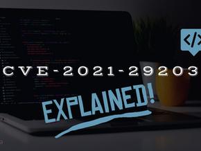 CVE-2021-29203 (HP Edgeline Manager) - Explained
