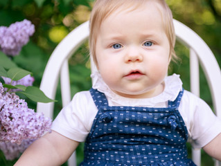Adelyn's One Year Old Photos