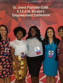 Conference Committee Member and Moderator, Dr. Jewel Plummer Cobb S.T.E.A.M. Women's Conference