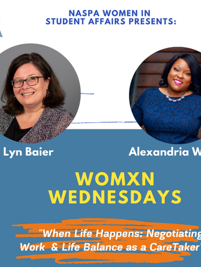 Womxn Wednesdays featuring Lyn Baier and Alexandria White