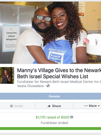Beth Israel Wishes List