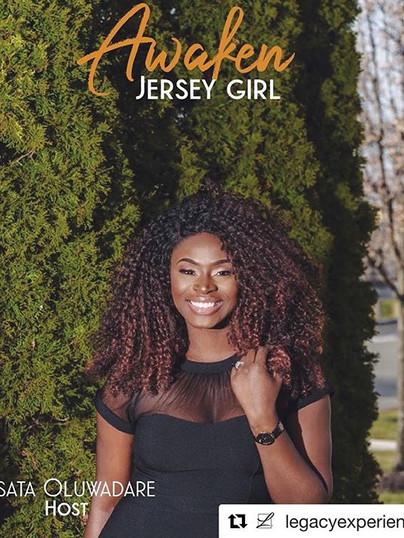 Hosting the Awaken Jersey Girl