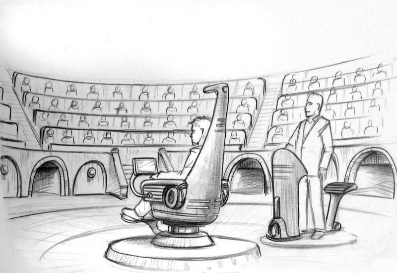 Arena Skizze