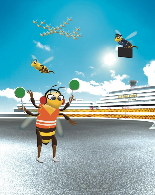 Bees Airport_1