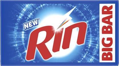 Rin Detergent Bar  (1000 g, Pack of 4)