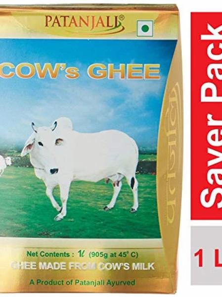 Patanjali cow's ghee 1 liter