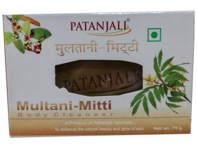 MULTANI MITTI BODY CLEANSER 75 GM By: PATANJALI