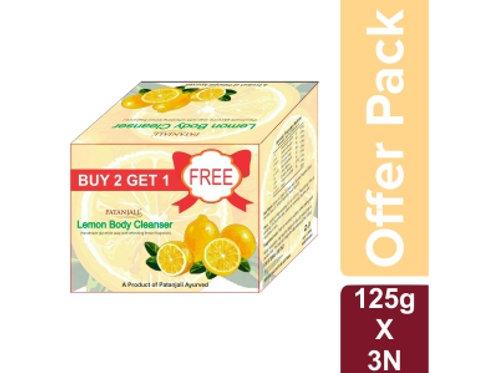 Patanjali lemon soap pack of 3