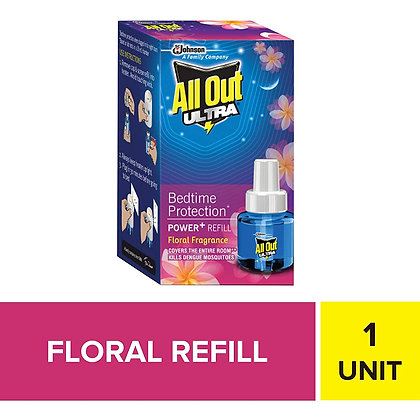 All Out Ultra Power+ Floral Fragrance Single Refill pack 45ml