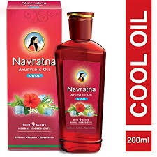 Navratna Ayurvedic Oil Extra Thanda, 200 m