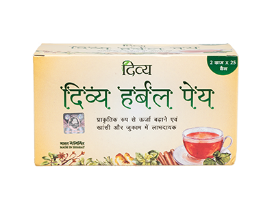 DIVYA HERBAL PEYA 50GM 50 GM