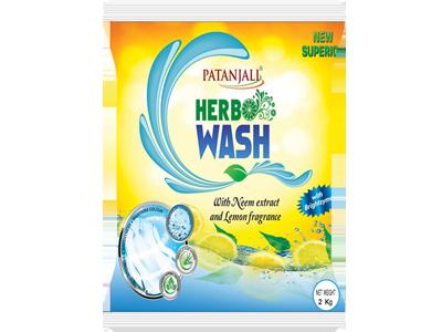 HERBO WASH DETERGENT POWDER 2 KG