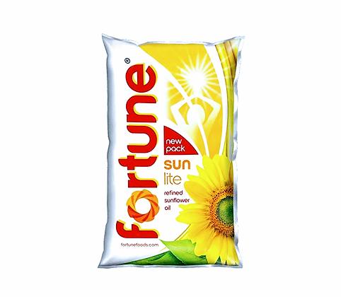 Fortune Sun Lite Surajmukhi Cooking oil 1L