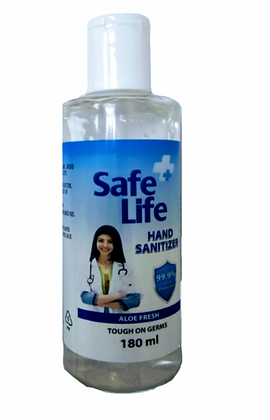 Safe Life Hand Sanitizer 180ml