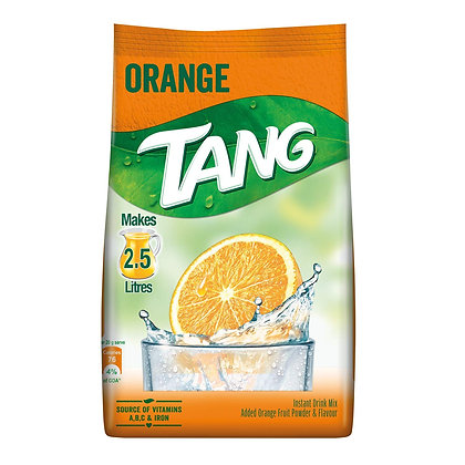 Tang Orange Instant Drink Mix, 250 gm Pack