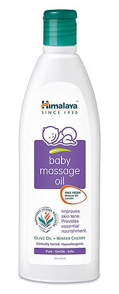 Himalaya Herbals Baby Massage Oil (100ml)