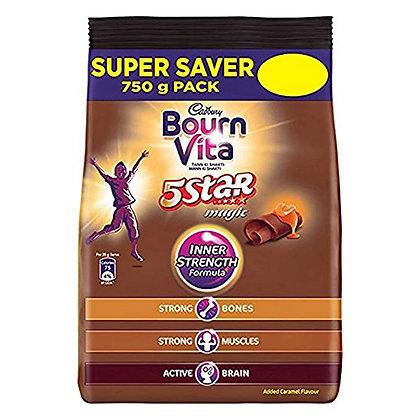 Cadbury 5 Star Magic Health Drink Pack, 750 g
