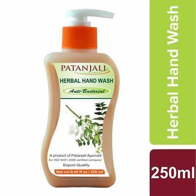 PATANJALI HERBAL HAND WASH (ANTI BACTERIAL) 250 ml