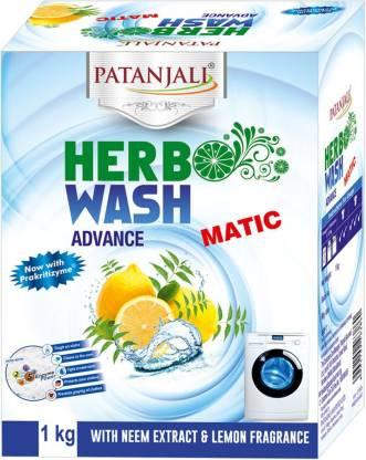 HERBO WASH ADVANCE MATIC DETERGENT POWDER 1 KG