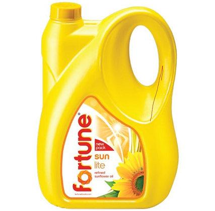 Fortune Sun lite Refind Sunflower Oil 5L