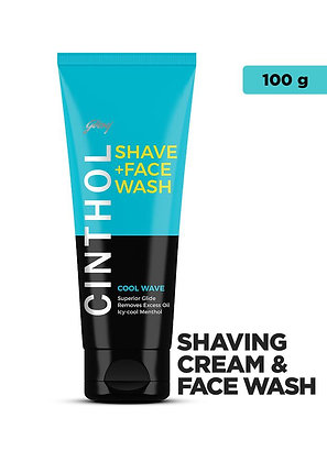 Cinthol Shave Face Wash Cool Wave