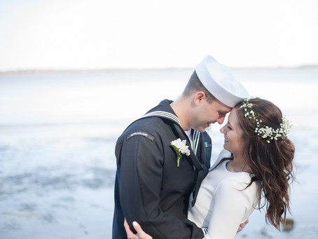 An Intimate York River Wedding