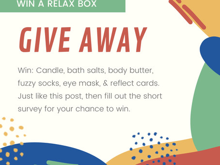 GIVE AWAY: Tools for Self-Care, Boxed up Just for You