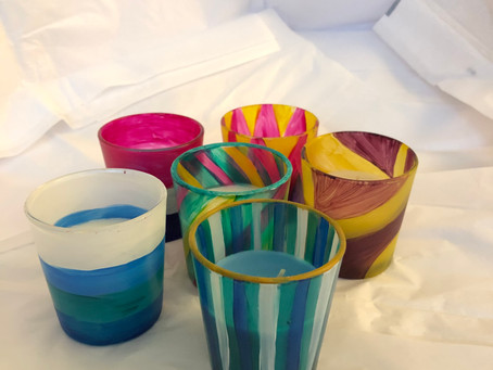 25 Hour Painted Candles are LIVE!
