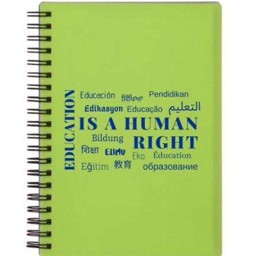 2019 Education Notebook Green