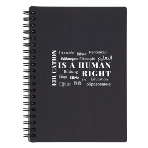 2019 Education Notebook Black
